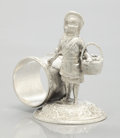 Silver Holloware, American:Napkin Rings, AN AMERICAN FIGURAL SILVER PLATE NAPKIN RING. Pelton Bros. SilverPlate Co., St. Louis, Missouri, circa 1875. Marks: PELTO...