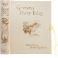 Books:Signed Editions, [Arthur Rackham, illustrator]. Jacob and Wilhelm Grimm. [Mrs. EdgarLucas, translator]. The Fairy Tales of the Brothers ...