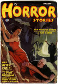 Pulps:Horror, Horror Stories V1#1 (Popular, 1935) Condition: FN....