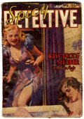 Pulps:Detective, Spicy Detective Stories - August 1939 (Culture, 1939) Condition:VG/FN....
