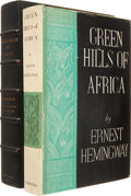 Books:First Editions, Ernest Hemingway. Green Hills of Africa. New York: CharlesScribner's Sons, 1935.. First edition....