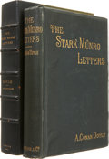 Books:First Editions, Arthur Conan Doyle. The Stark Munro Letters. London:Longmans, Green, and Co., 1895. First English edition. Vincen...