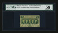 Fractional Currency:First Issue, Fr. 1311 50¢ First Issue PMG Choice About Unc 58....