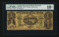 Canadian Currency: , Toronto, ON- International Bank $1 Sep. 15, 1858 Charlton380-10-06-02. ...