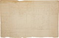 """Autographs:Military Figures, [Revolutionary War] Autograph Muster Roll Document Signed """"Luther Bailey"""". ..."""