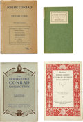 Books:First Editions, [Joseph Conrad]. Four Books About Conrad, including: Richard Curle.Joseph Conrad: A Study. London: Kegan Paul, ... (Total: 4Items)