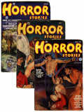 Pulps:Horror, Horror Stories Group (Popular, 1935-40) Condition: Average VG/FN.... (Total: 4 Items)