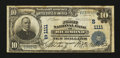 National Bank Notes:Virginia, Richmond, VA - $10 1902 Plain Back Fr. 624 The First NB Ch. #(S)1111. ...