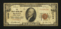 National Bank Notes:West Virginia, Beckley, WV - $10 1929 Ty. 1 The Beckley NB Ch. # 10589. ...