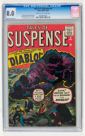 Silver Age (1956-1969):Horror, Tales of Suspense #9 (Marvel, 1960) CGC VF 8.0 Cream to off-whitepages....