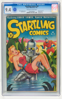 Startling Comics #49 (Better Publications, 1948) CGC NM 9.4 Off-white to white pages