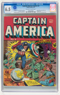 Golden Age (1938-1955):Superhero, Captain America Comics #2 (Timely, 1941) CGC FN+ 6.5 Off-white to white pages....