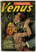 Golden Age (1938-1955):Horror, Venus #19 (Atlas, 1952) Condition: GD....