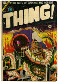Golden Age (1938-1955):Horror, The Thing! #15 (Charlton, 1954) Condition: GD....