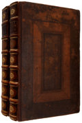 Books:Early Printing, Rapin de Thoyras. The History of England. Written inFrench by Mr. Rapin de Thoyras. Translated into English, with...(Total: 2 Items)