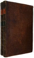 Books:Early Printing, Domesday Book. [London, 1783].. Two folio volumes, 382 leaves; 450 pages. No title pages, as issued.. Full conte... (Total: 2 Items)