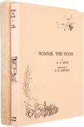 Books:Signed Editions, A. A. Milne. Winnie-the-Pooh. With Decorations by Ernest H.Shepard. [New York]: E. P. Dutton & Company, [1926]....