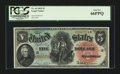 Large Size:Legal Tender Notes, Fr. 64 $5 1869 Legal Tender PCGS Gem New 66PPQ....