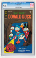Bronze Age (1970-1979):Cartoon Character, Donald Duck #134 File Copy (Gold Key, 1970) CGC NM 9.4 Off-white towhite pages....