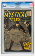 Silver Age (1956-1969):Horror, Mystical Tales #1 (Atlas, 1956) CGC VG/FN 5.0 Off-white to whitepages....