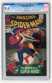 The Amazing Spider-Man #42 (Marvel, 1966) CGC NM 9.4 Off-white pages