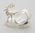 Silver Holloware, American:Napkin Rings, A CANADIAN FIGURAL SILVER PLATE NAPKIN RING. Toronto Silver PlateCompany, Toronto, Canada, circa 1885. Marks: TORONTO S.P...