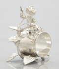 Silver Holloware, American:Napkin Rings, A CANADIAN FIGURAL SILVER PLATE NAPKIN RING . Simpson, Hall, Miller& Co., Montreal, Quebec, Canada, circa 1890. Marks:SI...