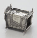 Silver Holloware, American:Napkin Rings, AN AMERICAN FIGURAL SILVER PLATE NAPKIN RING. James W. Tufts,Boston, Massachusetts, circa 1889. Marks: JAMES W. TUFTS,Q...