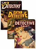 Pulps:Detective, Miscellaneous Detective Pulps File Copies Group (VariousPublishers, 1944-53) Condition: Average FN.... (Total: 36 Items)
