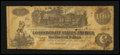 Confederate Notes:1862 Issues, T39 $100 1862 PF-16.. ...