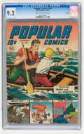 Golden Age (1938-1955):Miscellaneous, Popular Comics #106 File Copy (Dell, 1944) CGC NM- 9.2 Cream to off-white pages....