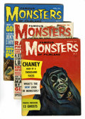 Magazines:Horror, Famous Monsters of Filmland #8, 9, and 11 Group (Warren, 1960-61).... (Total: 3 )