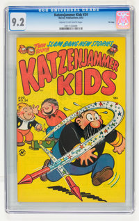 Katzenjammer Kids #24 File Copy (Harvey, 1953) CGC NM- 9.2 Cream to off-white pages