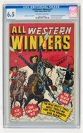 Golden Age (1938-1955):Western, All Western Winners #2 (Marvel, 1948) CGC FN+ 6.5 Off-white to white pages....