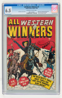 All Western Winners #2 (Marvel, 1948) CGC FN+ 6.5 Off-white to white pages
