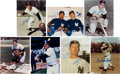 Autographs:Photos, New York Yankees Stars Signed Photograph Lot of 7.... (Total: 7card)