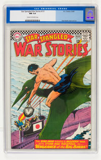 Star Spangled War Stories #131 (DC, 1967) CGC NM 9.4 Cream to off-white pages