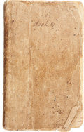 Autographs:Statesmen, [Texas Revolution] Joseph P. Pulsifer Retained Letter DiarySpanning October 30, 1832-August 4, 1836. 146 letters, totaling ...
