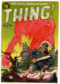 Golden Age (1938-1955):Horror, The Thing! #2 (Charlton, 1952) Condition: VG....