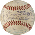 Autographs:Baseballs, 1959 Pittsburgh Pirates Team Signed Baseball....