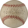 Autographs:Baseballs, Circa 1934 Babe Ruth Single Signed Baseball....