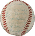 Autographs:Baseballs, 1962 Pittsburgh Pirates Team Signed Baseball....