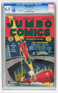 Golden Age (1938-1955):Superhero, Jumbo Comics #16 (Fiction House, 1940) CGC FN+ 6.5 Light tan to off-white pages....