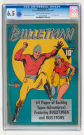Golden Age (1938-1955):Superhero, Bulletman #1 (Fawcett, 1941) CGC FN+ 6.5 Cream to off-white pages....