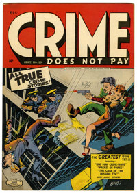 Crime Does Not Pay #35 (Lev Gleason, 1944) Condition: FN+