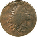 Large Cents, 1793 1C Wreath Cent, Vine and Bars Good 4 PCGS....