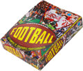 Football Cards:Boxes & Cases, 1977 Topps Mexican Football Display Box And Wax Packs....