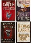 Books:Signed Editions, Thomas Harris. Four Signed Hannibal Lecter First Editions,including: Red Dragon. New York: G. P. Putnam's Sons, [19...(Total: 4 Items)