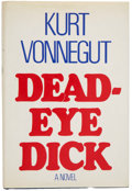 Books:First Editions, Kurt Vonnegut. Deadeye Dick. [New York]: Delacorte Press,[1982].. First edition. Front free endpaper is signed ...