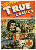 Golden Age (1938-1955):Non-Fiction, True Comics #2 (True, 1941) Condition: VF....